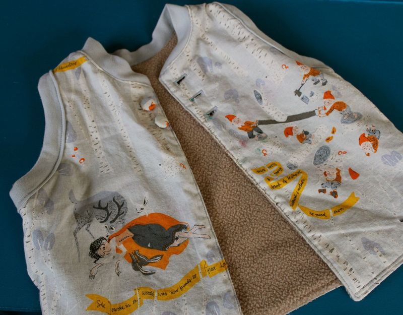 Storybook vest