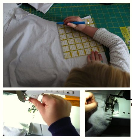 Kids can help in the sewing room.001