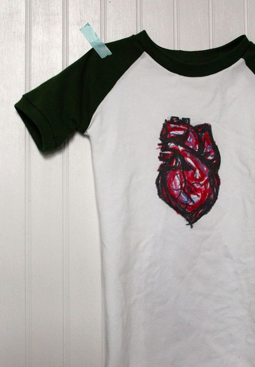 Heart Shirt By Brienne