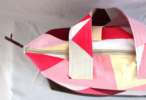 PInk Geo Tote Top by Brienne