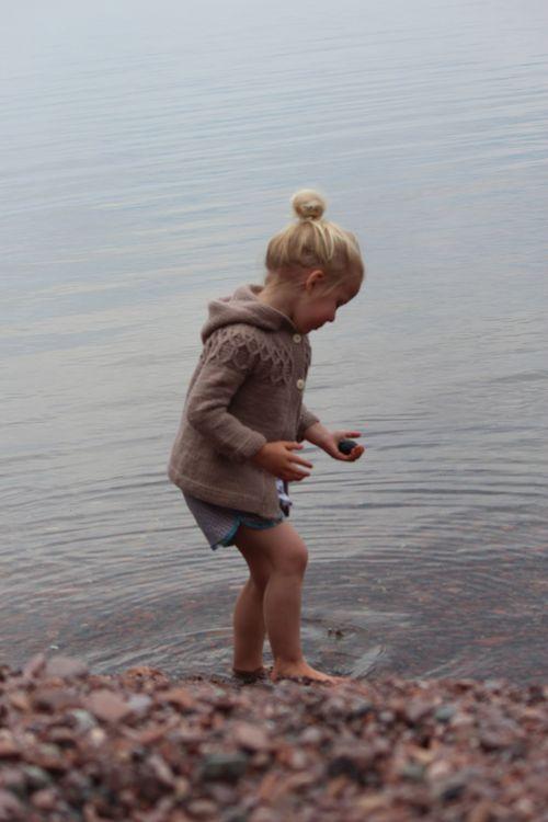 Kid Shorts with Acadia Bias Tape