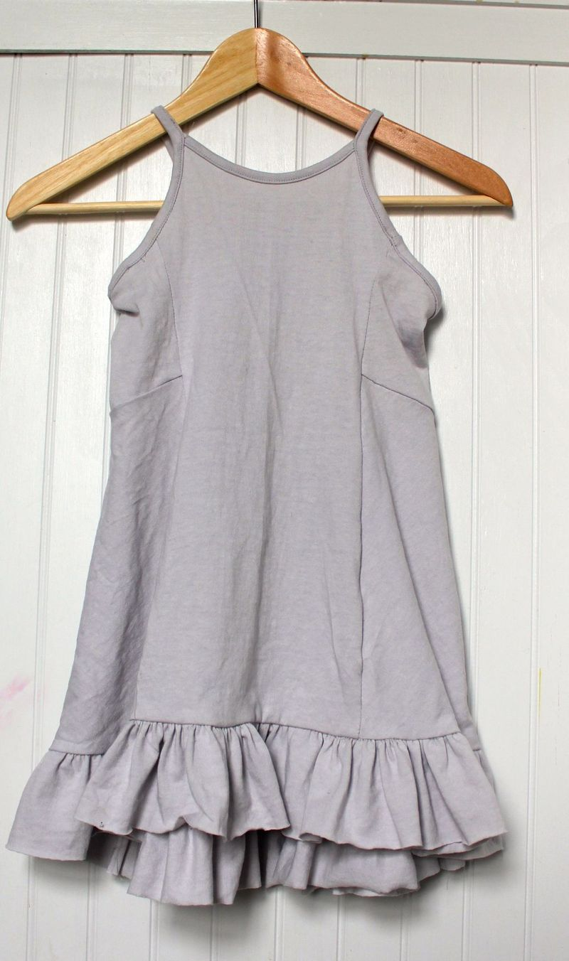 In Waves Dress on Hanger Front