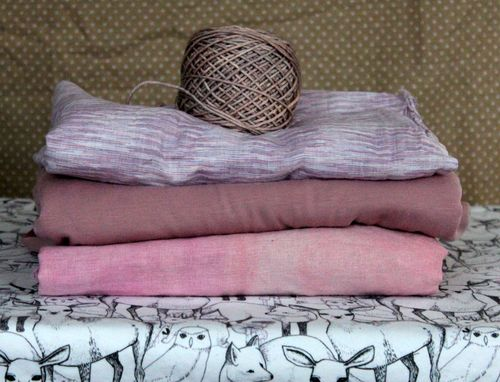 PInk Fabric Stacks by Brienne