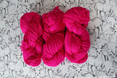 Malabrigo in Very Berry