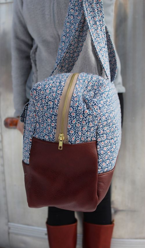 Happy Dance Tote Side by Brienne