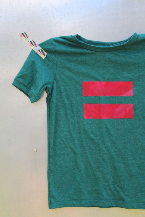 Equality Stencilied Tee by Brienne