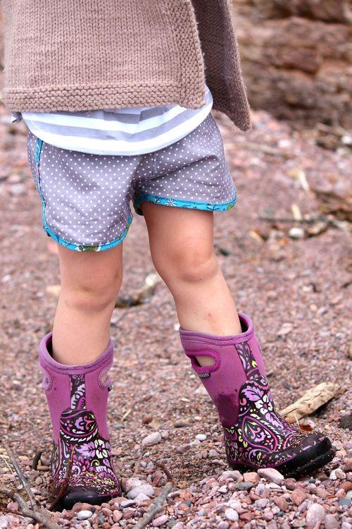 Kid Shorts by Brienne