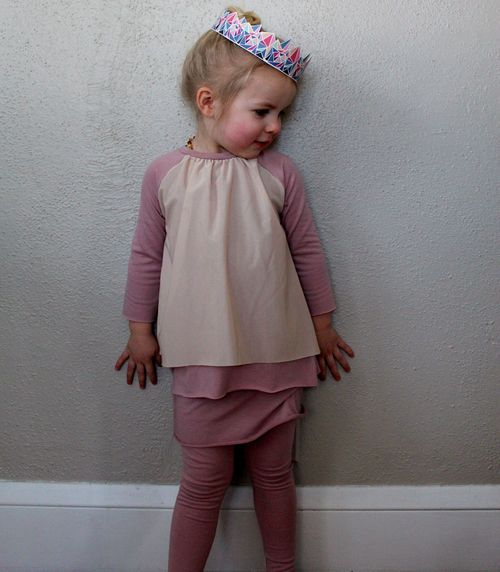 Raglan and Leggings for Layering By Brienne