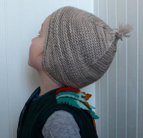Garter Ear Flap Hat By Brienne 3
