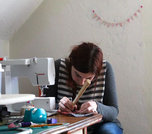 Chaos in the sewing room by eero