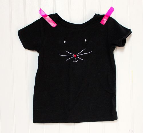 Kitty Face Tee by Brienne