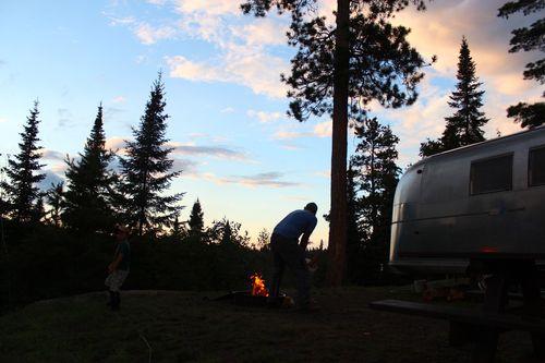 Nighttime at Camp