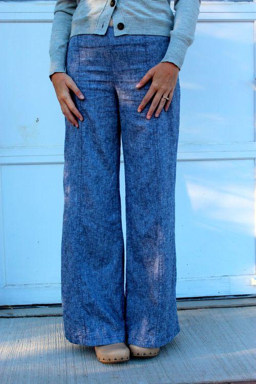 Burda Wide Leg Pants Sewing Pattern