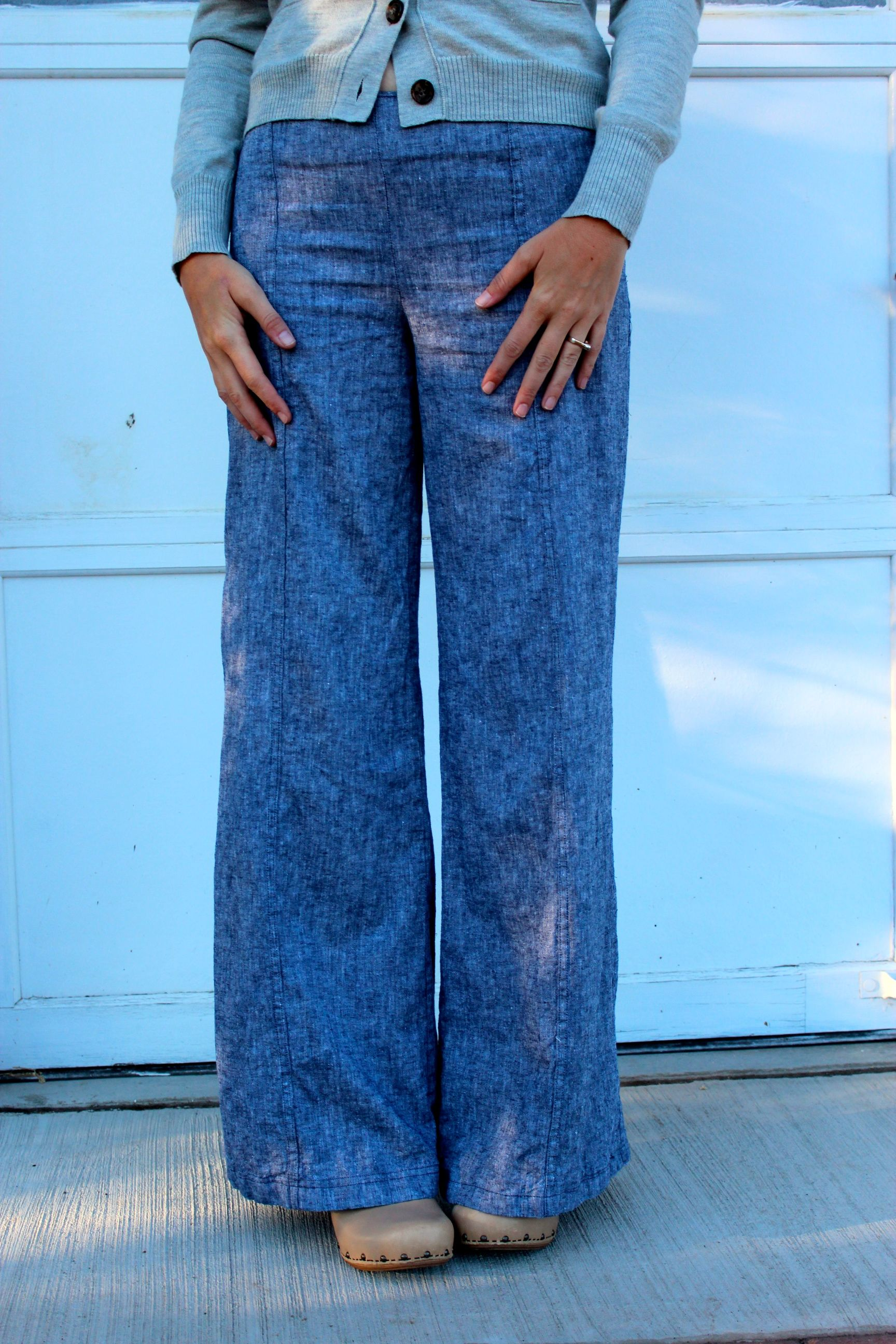 How To Sew Wide Leg Pants - Fat Pants