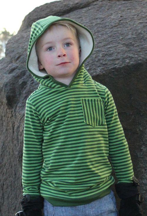 Boy Hoodie Sewing