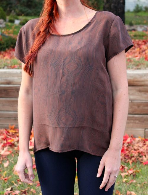 Scout Tee in Silk