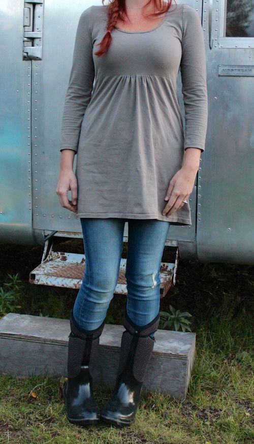 Make Your Own Knit Tunic