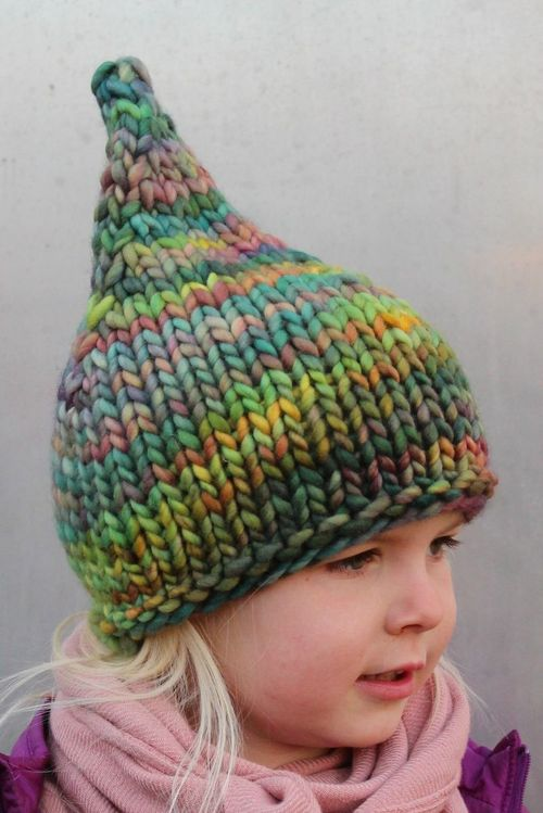 Rainbow Gnome Hat