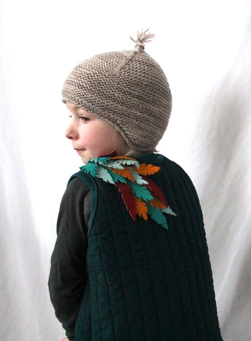 Feathered Vest By Brienne