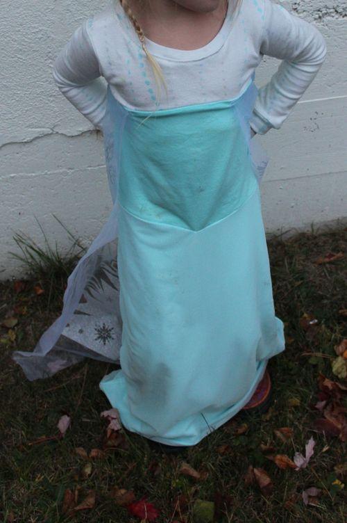 How to make a Handmade Elsa Costume