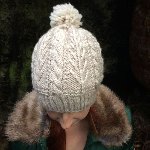 Knitting the Bough Hat